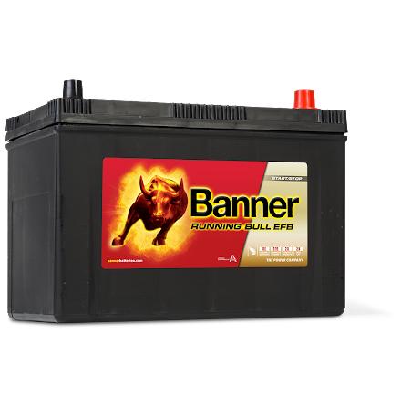 Bilbatteri 12V95Ah Banner Running Bull EFB