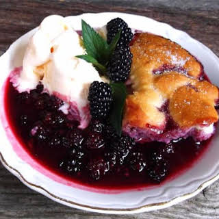 Summer in the Country Blackberry Cobbler.