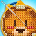 Knitting Master - Cross Stitch Art Sewing Game icon