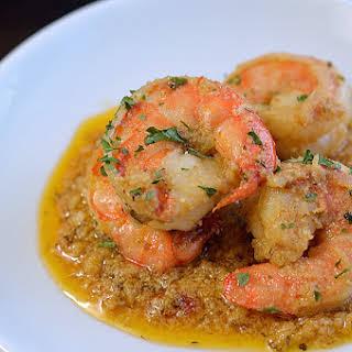 Cajun Garlic Butter Shrimp.