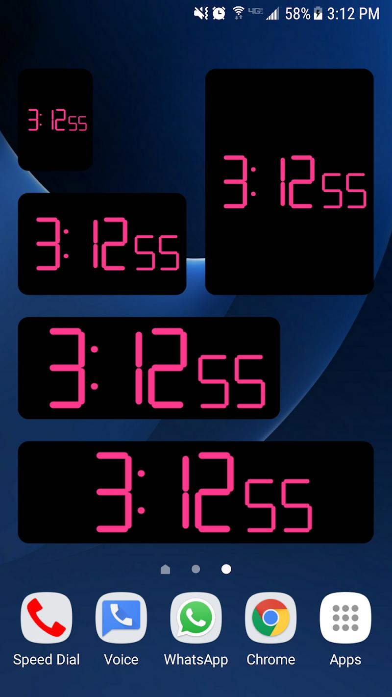 Clock Seconds Pro + Widget Screenshot 5