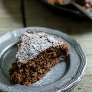 Chocolate Zucchini Date Cake.