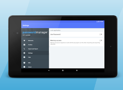 App Wi-Fi password manager APK for Windows Phone