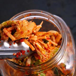 Basic Napa Cabbage Kimchi (Kimchee).