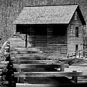 by Chuck Hagan - Black & White Buildings & Architecture (  )