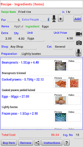 Recipe and Shopping List screenshot 4