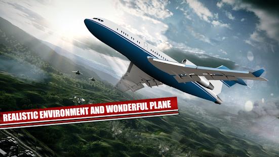 Airplane Flight Pilot Simulator: 3D Flying Game - náhled