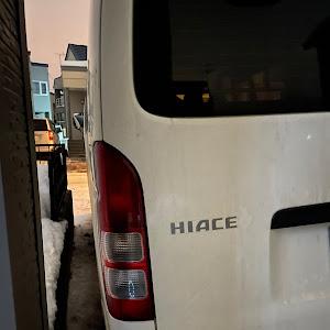 ハイエース KDH206Vのカスタム事例画像 たくたん7さんの2021年01月26日22:20の投稿