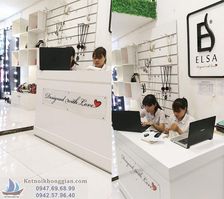 thiết kế shop thời trang nữ Elsa