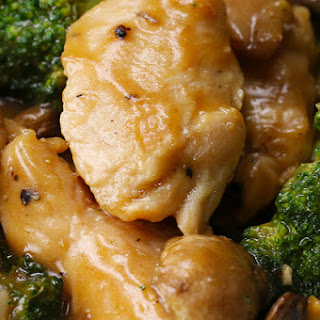 1. Chicken Broccoli Mushroom Stir Fry