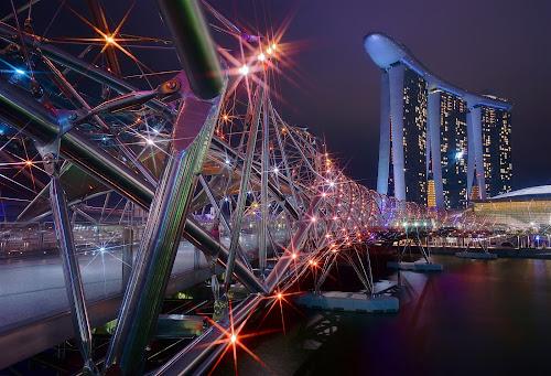 Helix Bridge by Sim Kim Seong - Buildings & Architecture Bridges & Suspended Structures
