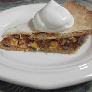 Leftover Turkey Enchilada Pot Pie