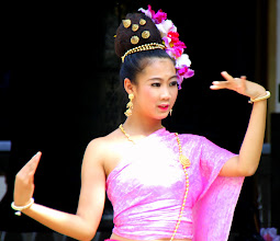 Photo: Day 336 -  Dancer at the Wat in  Doi Suthep