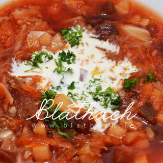 Ukrainian Beetroot Borscht