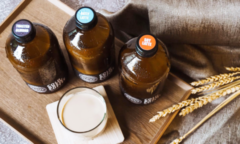 Photo of cold brew coffee sold at Flavored PH website