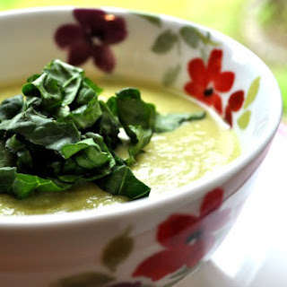 Asparagus and Spring Onion Soup