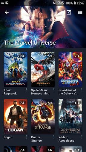 Moviebase: Manage Movies & TV Shows androidiapk screenshots 1