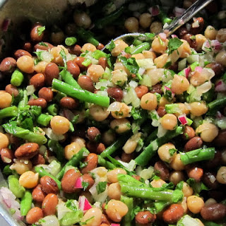 Pressure Cooker Three Bean Salad