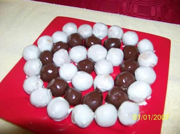 Almond Peanut Butter Balls Recipe