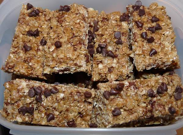 No Bake Granola Bars Recipe