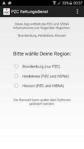 PZC Rettungsdienst (mit IVENA) screenshot 0