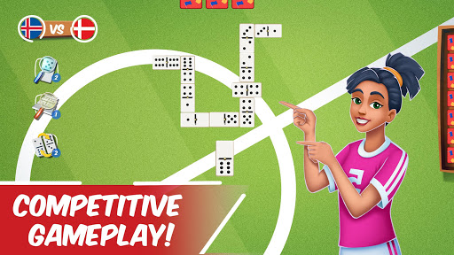 Dominoes Striker: Play Domino with a Soccer blend 2 screenshots 6