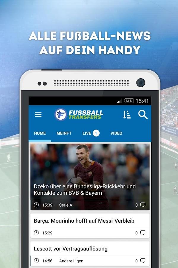 fussball transfers news