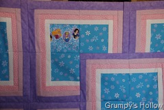 Princess Panel on Quilt