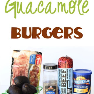 Bacon Guacamole Burger Recipe!
