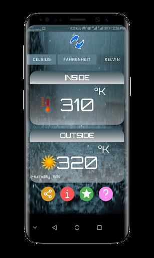 Thermometer Room Temperature screenshot 2