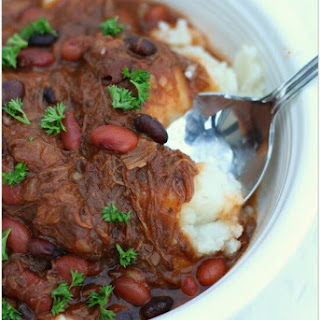 Slow Cooker Shepherd's Pie Chili.