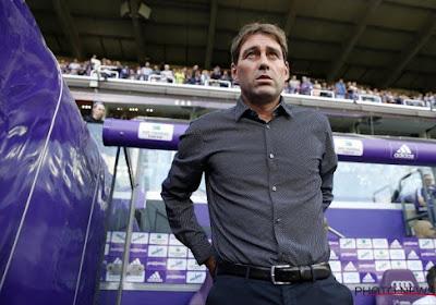 René Weiler is scherp over zijn 15 maanden bij Anderlecht