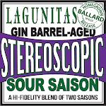 Lagunitas Stereoscopic Sour Saison (Gin Barrel-aged)