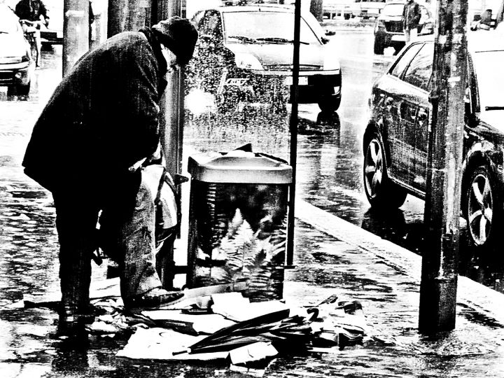 Sotto la pioggia... di Paolo74s