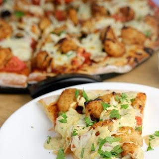 Shrimp Po' Boy Pizza.
