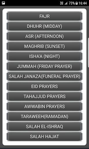 Salah Guides With Pictures All Salahs Prayer screenshot 18