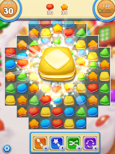 Cookie Macaron Pop : Sweet Match 3 Puzzle filehippodl screenshot 10