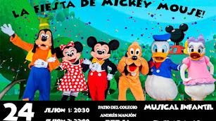 Espectáculo Disney con todas las medidas de prevención frente al COVID19.