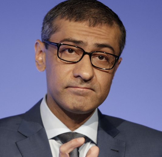 Nokia's President and Chief Executive Rajeev Suri. Picture: REUTERS