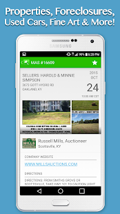 KY Auctions – Live Listings - náhled