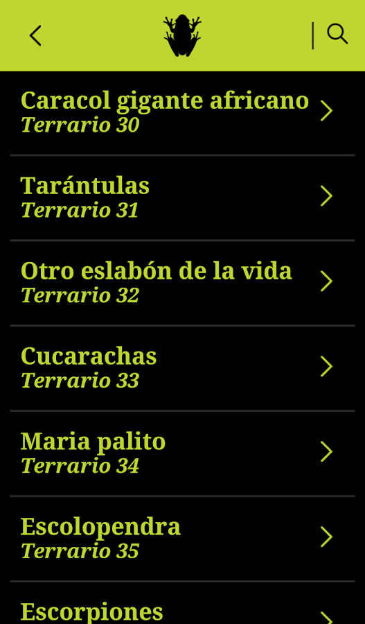 Acuario Explora- screenshot