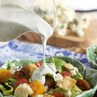 Easy Blue Cheese Dressing from Scratch.