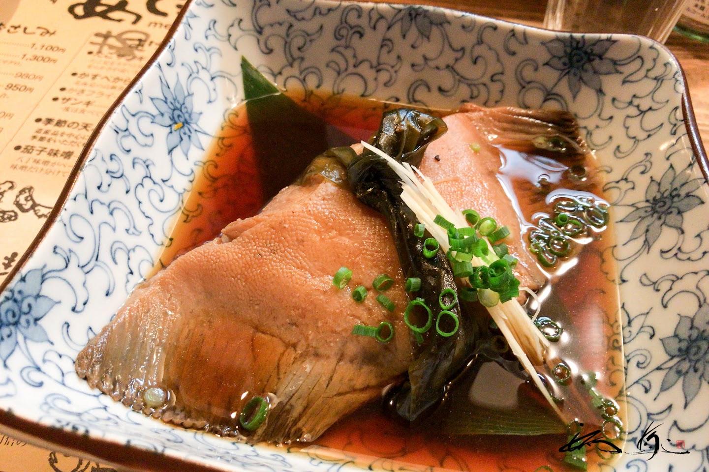煮魚:ババガレイ