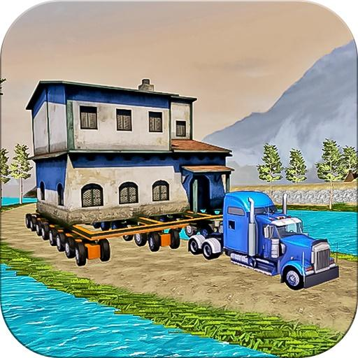 House Transport Cargo Truck Simulator 3d