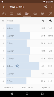 Runtastic Mountain Bike GPS Screenshot 5