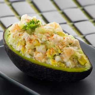 Salmon Stuffed Avocado.
