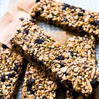 Blueberry-Buckwheat Granola Bars