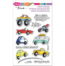 Stampendous Perfectly Clear Stamps 4X6 - Wheels
