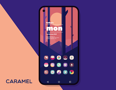 Caramel Icon Pack Screenshot