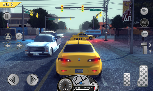 Real Taxi Sim 2018 3.1 screenshots 5